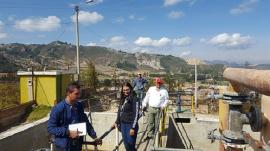 Visitamos la Planta de Tratamiento de Agua Potable de Cucaita