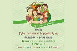 En Garagoa se cumple tercera sesión del 'Foro Retos y Desafíos de la Familia de Hoy'
