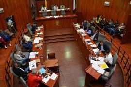 Aprobado en segundo debate proyecto de ordenanza de empréstito