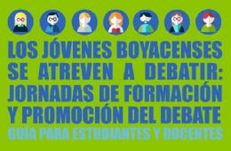 En Chiquinquirá iniciará fase I del concurso 'Jóvenes Boyacenses se Atreven a Debatir'