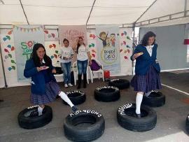Desarrollo Humano participa en semana Andina de Prevención  de  Embarazo en Adolescentes