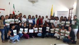 Desarrollo Humano, Gestora Social y Primera Infancia clausuraron curso de Atención Integral