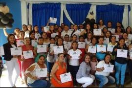 Mujeres de Cubará terminaron exitosamente Diplomado en Formación Política y Liderazgo