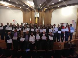 Indeportes Boyacá entregó certificados de la capacitación de Programas Especiales