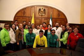 Gobierno departamental realizó homenaje a dirigentes nacionales del deporte para sordos