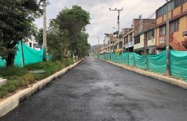 Avanzan las obras sobre la avenida circunvalar en Duitama