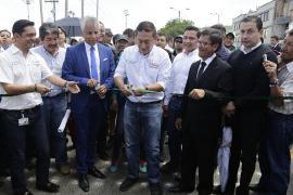 Con nuevas noticias, gobernador Carlos Amaya inauguró primer tramo de Circunvalar de Duitama