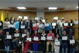 En Duitama fue clausurado exitoso Curso para Víctimas del Conflicto Armado