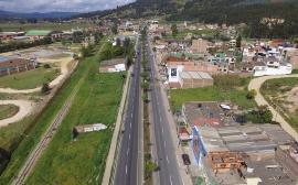 Gobernador de Boyacá entregará a la comunidad el tramo vial Higueras-Glorieta Hospital de Duitama