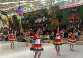 La Institución Educativa 'El Charco' de San Miguel de Sema celebra 40 años
