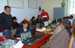 Habitantes de El Cocuy se capacitan en el uso de las herramientas TIC