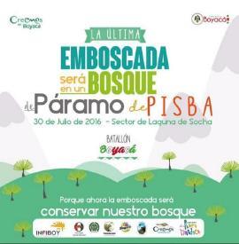 El 30 de julio se realizará la 'Última Emboscada al Páramo de Pisba'