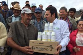El gobierno Creemos en Boyacá, le cumple al sector agrícola