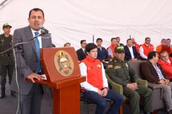 La seguridad y las vías son fundamentales para el desarrollo de Boyacá
