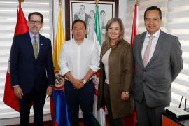 Embajador de Perú abre posibilidades comerciales para Boyacá