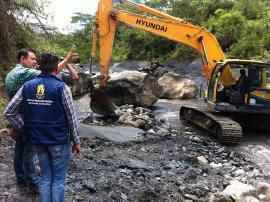 Gobernación inició trabajos de prevención para temporada de lluvias en San Eduardo