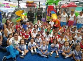 En Otanche y Pauna dos nuevos parques para la primera infancia fueron puestos al servicio