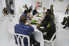 Gobernación invertirá en nuevos equipos de seguridad para Puerto Boyacá