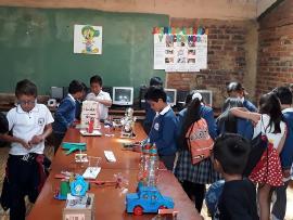 Exitosa feria del Colegio de Mongua deja aportes importantes para comunidad estudiantil