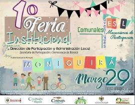 Participación y Democracia de Boyacá realizará 'Feria de Servicios' en Moniquirá