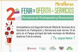 'Feria de Servicios' en Miraflores será este jueves