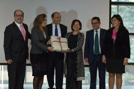 Presentan 45 Festival Internacional de la Cultura a embajadas