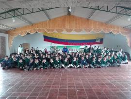 Con gran compromiso, la comunidad educativa de Firavitoba revive el Bicentenario
