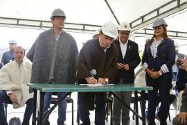 Con el Ministro de Agricultura inician obras de etapa 2 fase I del Parque Agroalimentario de Tunja