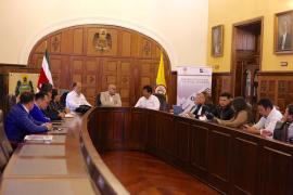 Gobernador encargado de Boyacá se reúne con delegados del Ministerio de Agricultura