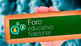 Foro Educativo Nacional 2019 convoca por primera vez a docentes investigadores