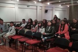 Niños y niñas víctimas del conflicto en Boyacá participan en Diplomado