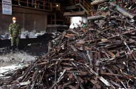 Fuerzas militares de Colombia adelantaron en Boyacá fundición de más de 16 toneladas de armas