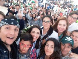 """Feria """"Creo mi Futuro"""" contó con masiva participación de jóvenes del departamento"""