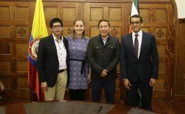 Gobernador posesionó a tres integrantes de la Selección Boyacá del Bicentenario