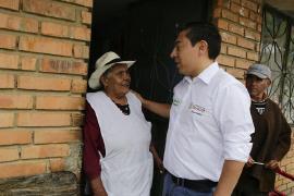 Gobernador Amaya lleva mensaje de respeto de los derechos de las mujeres e igualdad de género