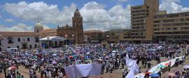 'Sí a la paz' y perdón a víctimas del conflicto