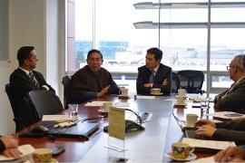 Importantes gestiones logra el gobernador de Boyacá en la Agencia Nacional de Infraestructura -ANI