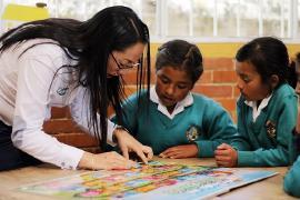 'Con niños rurales de Sora: jugamos y aprendimos a cuidar el medio ambiente': Gestora Social