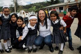 Niñas y niños rurales de Belén se recrearon con la Gestora Social de Boyacá