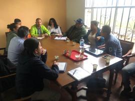 Gobierno de Carlos Amaya iniciará proceso de restauración en Güicán, tras incendio forestal.