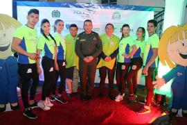 Gobernador Carlos Amaya dio la bienvenida a la Carrera por la Policía 10K Tunja