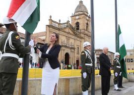Gobernadora (e) de Boyacá reconoció la labor del Ejército y la Policía Nacional
