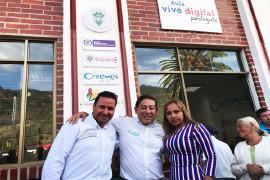 Gobierno de Carlos Amaya, pone al servicio de la comunidad de Paz de Río Aula Vive Digital