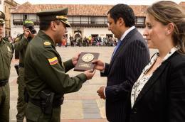 Policía Nacional exaltó a Gobernador de Boyacá