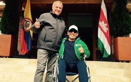 Gobernador de Boyacá ya se encuentra en su casa iniciando proceso de recuperación