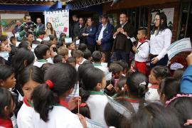 La educación, un sueño compartido por el Gobernador y el pequeño Yeison