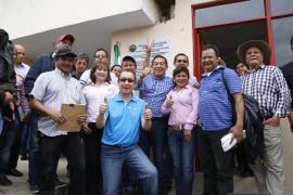 Gobernador de Boyacá invitó a los trabajadores a laborar con el alma y el corazón