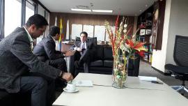 Gobernador busca recursos para fortalecer las vías departamentales