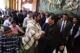 Ministro, Gobernador y dignidades campesinas analizan acuerdos del paro campesino