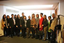Entrega total expresó la nueva Asesora de Relaciones Nacionales e Internacionales